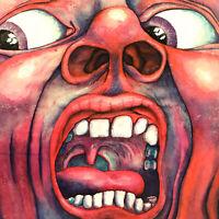 In the Court of the Crimson King Vinyl LP Record SD 8245 Atlantic 1969 1st Press