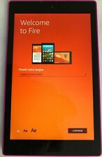 Amazon Fire HD 8 5th Generation 2015 Tablet with Alexa 16G WIFI 8in Pink   #B81