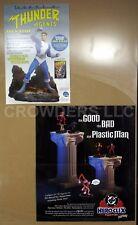 DC Comics JLA Obsidian Age, Hero Clix & THUNDER Agents Dynamo Promo Posters
