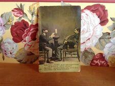 1906 antique Medical doctor postcard