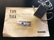 Rare Sony Vintage Microphone for a Sony Tapemate Sony-Matic TC-123 Recorder