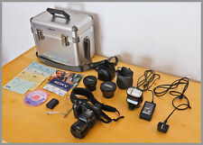 SonyCYBER-SHOT DSC-F828 8.0 MP+Sony Aluminum Case+SonyFlash HVL-F32X+Accessories