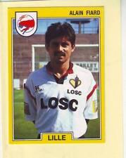 n°84 VIGNETTE PANINI CHAMPIONNAT DE FRANCE 1992 ALAIN FIARD LILLE