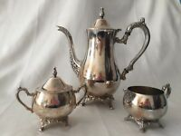 Oneida USA OL Silverplate 4 Piece Coffee Tea Set
