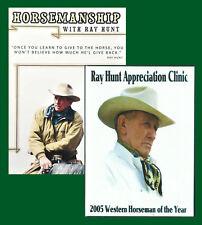 Ray Hunt Horsemanship & Appreciation Clinic DVD Set - 4 Disc - 12 Hours Total