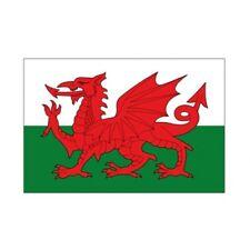 Autocollant Drapeau Wales Pays de galle sticker Taille:12 cm