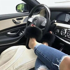 New Style Slippers Womens Real Fox Fur Slides Sandals Flip-Flops Sliders Shoes