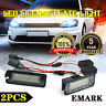 2x Error Free LED License Plate Light For VW GOLF 4 5 6 Scirocco EOS Passat B6