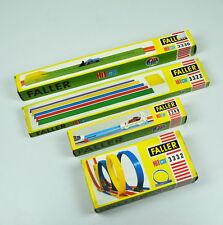 Vacío cajas: Faller hit car 3322, 3332, 3336 & 3349-sin contenido-no Content