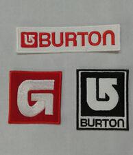 Patch / Ecusson BURTON  lot de 3
