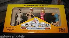 MOTORHEAD 1/24  SET OF 4 SIXTIES SWEETIES GIRLS  FIGURINES DIORAMA DISPLAY