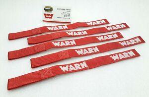 WARN 69645 Winch Hook Safety Strap, 5 count