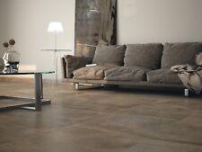 TILES JOBLOT 79: 60x60cm Copper brown satin finish porcelain tiles  30m2