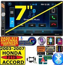 FITS 2003-2007 HONDA ACCORD DUAL BLUETOOTH USB SD AUX CAR RADIO STEREO PACKAGE