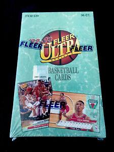 🔥1992-93 FLEER ULTRA FACTORY SEALED NBA BOX SERIES 1, MCHAEL JORDAN INSERTS ?