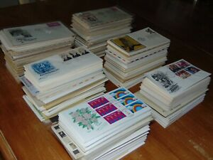 ENORMOUS US FIRST DAY COVER COLLECTION W/ BETTER 1,000+ 7 DAY AUCTION NO RESERVE