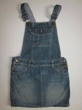 BABY GAP 1969 Girls Denim Jean Overall Dress Size 5 Years
