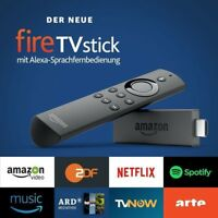 Amazon Fire TV Stick 2 + ALEXA + Media Player 17.6 + Serien + Filme + Sport