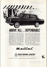 """1963 ISUZU BELLEL 2000 SPECIAL DELUXE AD A4 CANVAS PRINT POSTER 11.7""""x8.3"""""""
