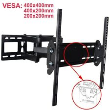 "Dual Arm TV Wall Mount for JVC Sony Bravia 32 40 46 48 50 55"" LED LCD Plasma MLZ"