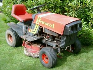 Westwood W11 ride on sit on mower garden tractor for spares or repair