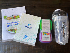 Beachbody 2B Mindset My Tracker, Guide To Nutrition, Shaker Cup, Food Containers