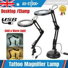 5X Magnifying Lamp 120 LED Desk / Clamp Beauty Nail Salon Tattoo Magnifier Light