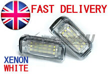 Mercedes Benz C W203 LED License Number Canbus Error Free Light Bulbs Lamps