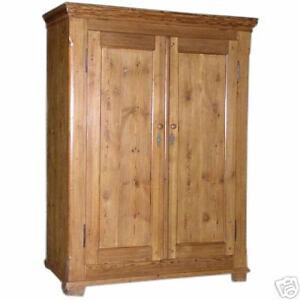 Antique Baltic Armoire, Wardrobe, Cupboard  ca. 1860!