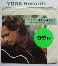 """JOHN COUGAR MELLENCAMP - Pop Singer - Excellent Con 7"""" Single Mercury JCM 12"""