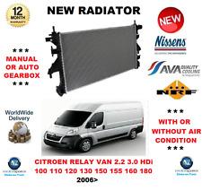 Per Citroen Relay Van 2.2 3.0 HDI 100 110 120 130 150 155 160 180 2006 > RADIATORE