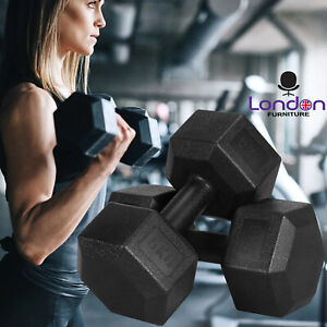 5KG Pair (2x 5kg) Dumbbells Weights Sets Gym Hand Dumbell Home Exercise Workout