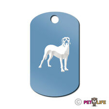 Fila Brasileiro Engraved Keychain Gi Tag dog Many Colors