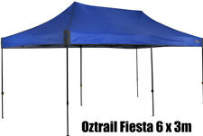 OZTRAIL BLUE FIESTA 6x3m DELUXE GAZEBO PAVILION Marquee Stand