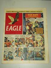 EAGLE #22 V3 5 SEPTEMBER 1952 BRITISH WEEKLY DAN DARE SPACE MAN