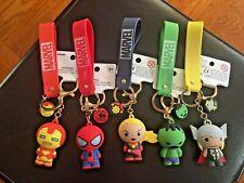 NEW Minisio MARVEL Avengers Spiderman Hulk Ironman Capital Marvel Thor KeyChains