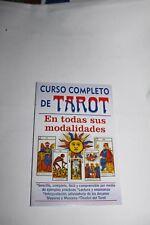 Libro CURSO COMPLETO DE TAROT book sus modalidades Arcanos Mayores y Menores