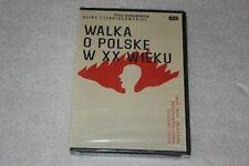 Walka o Polskę w XX wieku DVD ( zestaw 4 filmów) POLISH RELEASE NEW
