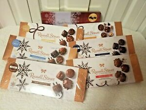 Russel Stover Fine Assorted Chocolates 7.1oz - 9.4oz Perfect for Valentines Day