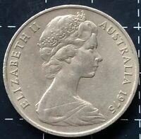 1975 AUSTRALIAN 20 CENT COIN