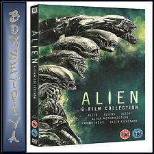ALIEN - 1 2 3 4 5 & 6 - 6 FILM COLLECTION   *BRAND NEW DVD BOXSET