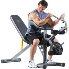 Home Gym Workout Bench Squat Rack Body Power Strength Training Fitness Exercise