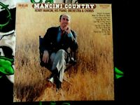 "Henry Mancini Country Vinyl Records Music LP 12"" Vintage Retro NM- og sleeve!"