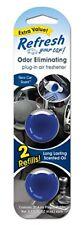 Refresh Your Car! 09606 Power Plug-In 2 Refill, New Car Air Freshener