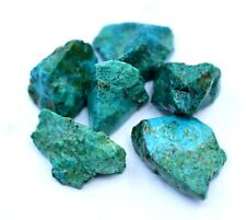 78.85 Ct 100% Natural Arizona Green Chrysocolla Facet Rough 6 Pcs Top Quality