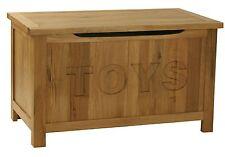 Oak Toy Chest