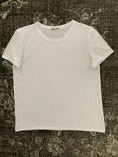 Zara Basic Plain White Tshirt ,worn Just For Trying Size M