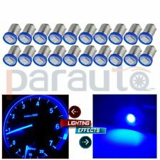 20Pcs BA9S 1815 1895 Blue 1SMD 5050 LED Instrument Panel Dash Light Bulb 12V DC