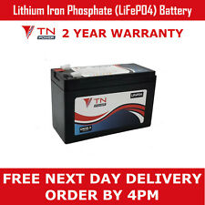 TN Power 12V 7.2Ah Lithium Leisure Battery for Golf & Mobility