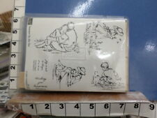 Stampin up! summer by the sea full set RUBBER STAMP 3a